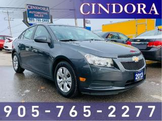 Used 2013 Chevrolet Cruze LT Turbo, Remote Start, Auto for sale in Caledonia, ON