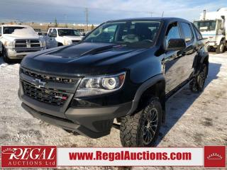 Used 2018 Chevrolet Colorado ZR2 CREW CAB SWB 4WD 2.8L for sale in Calgary, AB