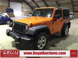 Used 2013 Jeep Wrangler Sport 2D Utility 4WD for sale in Calgary, AB