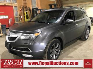 Used 2011 Acura MDX Elite 4D Utility AWD for sale in Calgary, AB