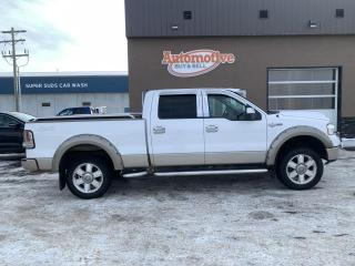 Used 2008 Ford F-150 LARIAT SUPERCREW SHO for sale in Stettler, AB