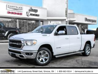 New 2021 RAM 1500 BIG HORN | 0% FINANCING PLUS $1500 BONUS CASH OFF for sale in Simcoe, ON