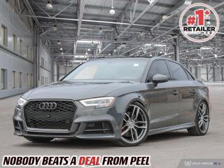 Used 2018 Audi S3 2.0T Technik for sale in Mississauga, ON