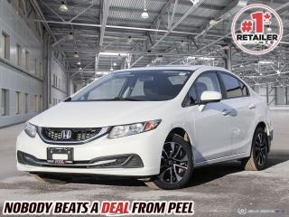 Used 2015 Honda Civic EX for sale in Mississauga, ON