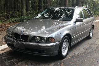 Used 2002 BMW 5 Series 525i Touring Wagon for sale in Vancouver, BC