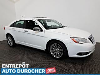Used 2012 Chrysler 200 Limited Automatique - Toit Ouvrant - A/C - Cuir for sale in Laval, QC