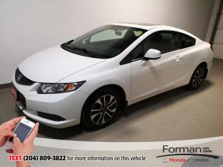 Used 2013 Honda Civic EX|Warranty-Just Arrived| for sale in Brandon, MB