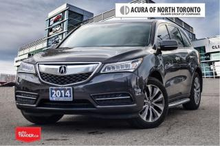 Used 2014 Acura MDX Tech at No Accident| DVD| Running Board for sale in Thornhill, ON