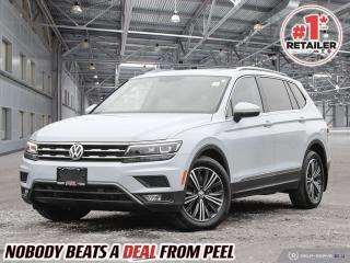Used 2018 Volkswagen Tiguan Highline for sale in Mississauga, ON