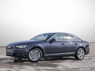 Used 2017 Audi A4 Komfort for sale in Ottawa, ON