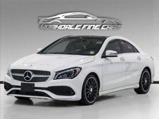 Used 2017 Mercedes-Benz CLA250 4MATIC Navigation, Panoramic, Roof, Loaded for sale in Concord, ON