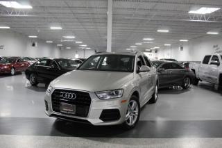 Used 2017 Audi Q3 QUATTRO I LEATHER I PANOROOF I HEATED SEATS I POWER OPTIONS for sale in Mississauga, ON