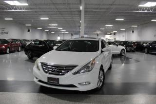 Used 2011 Hyundai Sonata LIMITED I NAVIGATION I LEATHER I SUNROOF I REAR CAM I AS IS for sale in Mississauga, ON