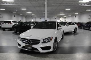 Used 2017 Mercedes-Benz C-Class C300 4MATIC NO ACCIDENTS I AMG I NAVIGATION I PANOROOF I BT for sale in Mississauga, ON