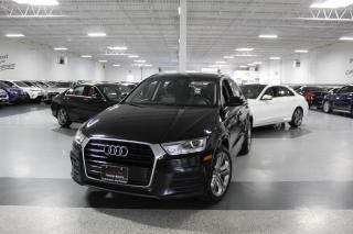 Used 2017 Audi Q3 PROGRESSIV QUATTRO I NAVIGATION I PANOROOF I REAR CAM I BT for sale in Mississauga, ON