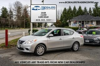 Used 2012 Nissan Versa 1.6, Low 120k, Local and No Declarations, Bluetooth, iPod! for sale in Surrey, BC