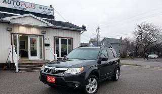 Used 2010 Subaru Forester 5dr Wgn Auto 2.5X Limited for sale in Oshawa, ON