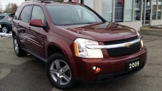 Used 2009 Chevrolet Equinox LT1 AWD - LEATHER! SUNROOF! HTD SEATS! REMOTE START! for sale in Kitchener, ON