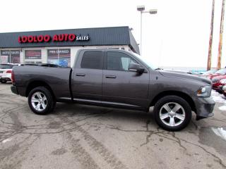 Used 2014 RAM 1500 Sport Quad Cab Hemi 5.7L 4WD Navi Full Leather Certified for sale in Milton, ON