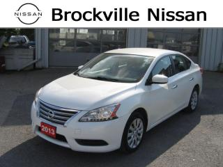 Used 2013 Nissan Sentra for sale in Brockville, ON