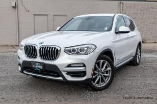 Used 2018 BMW X3 xDrive30i Balance of Factory Warranty, Driver's Assistance Package for sale in St. Catharines, ON