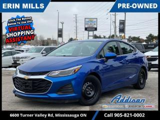Used 2019 Chevrolet Cruze LT  SNOW TIRES|HEATED SEATS|REAR CAM for sale in Mississauga, ON