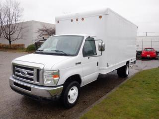 Used 2008 Ford Econoline 16 foot E-450 Diesel Cube Van with Ramp for sale in Burnaby, BC