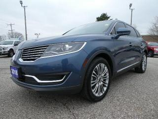 Used 2018 Lincoln MKX Reserve | Navigation | Remote Start | Panoramic Roof for sale in Essex, ON