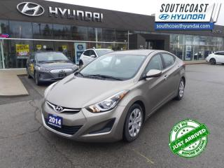 Used 2014 Hyundai Elantra GL at  - Bluetooth -  Heated Seats - $91 B/W for sale in Simcoe, ON