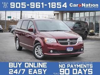 Used 2019 Dodge Grand Caravan SXT Premium Plus| LEATHER-TRIMMED SEATS| NAVI| for sale in Burlington, ON