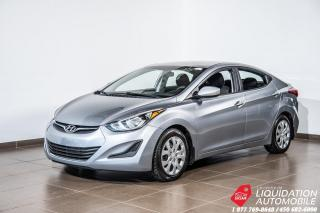 Used 2016 Hyundai Elantra GL for sale in Laval, QC