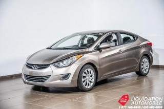 Used 2013 Hyundai Elantra GR.ELECT+BLUETHOOTH+SIEG/CHAUFF+A/C for sale in Laval, QC
