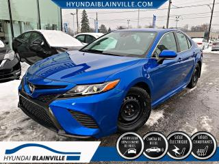 Used 2019 Toyota Camry SE CUIR, CAMÉRA DE RECUL, BLUETOOTH, BAN for sale in Blainville, QC