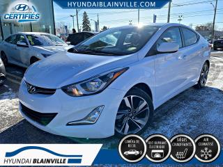 Used 2015 Hyundai Elantra GLS TOIT, MAGS, BLUETOOTH, PHARES ANTI-B for sale in Blainville, QC