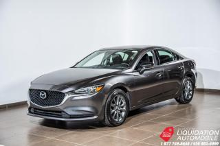 Used 2018 Mazda MAZDA6 GS+MAGS+CAM/RECUL+SIEG/CHAUFF+BLUETHOOTH for sale in Laval, QC