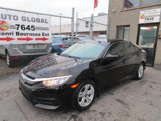 Used 2017 Honda Civic 4 portes, boîte manuelle, LX for sale in Montréal, QC