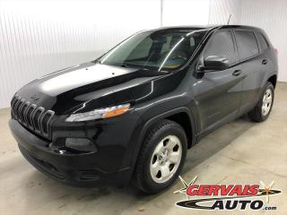 Used 2015 Jeep Cherokee Sport 4x4 Ensemble Temps Froid for sale in Shawinigan, QC
