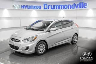 Used 2012 Hyundai Accent GL + GARANTIE + A/C + MAGS + CRUISE + WO for sale in Drummondville, QC