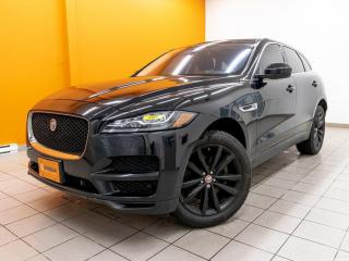 Used 2017 Jaguar F-PACE 35T PRESTIGE AWD ALERTE SÉCUR NAV CUIR *TOIT PANO* for sale in St-Jérôme, QC