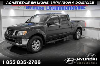 Used 2011 Nissan Frontier SV 4X4 + GARANTIE + CREW CAB + MAGS + A/ for sale in Drummondville, QC