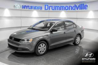 Used 2013 Volkswagen Jetta GARANTIE + A/C + MAGS + CRUISE + WOW !! for sale in Drummondville, QC