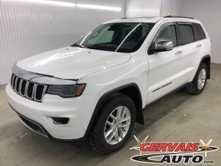 Used 2017 Jeep Grand Cherokee Limited 4x4 V6 GPS CUIR TOIT PANORAMIQUE MAGS for sale in Shawinigan, QC