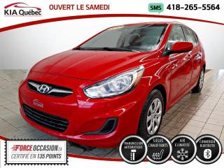 Used 2013 Hyundai Accent GL* 5 PORTES* AT* A/C* SIEGES CHAUFFANTS for sale in Québec, QC