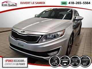Used 2012 Kia Optima EX PREMIUM* HYBRID* GPS* TOIT PANO* CUIR for sale in Québec, QC