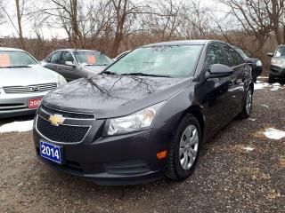 Used 2014 Chevrolet Cruze 1LT CERTIFIED for sale in Oshawa, ON