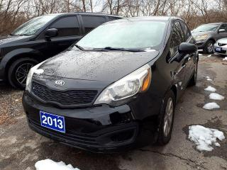 Used 2013 Kia Rio CERTIFIED for sale in Oshawa, ON