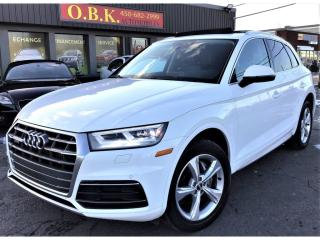 Used 2018 Audi Q5 2.0 TFSI Quattro Progressiv-Navigation-Toit Panora for sale in Laval, QC