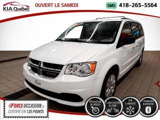 Used 2017 Dodge Grand Caravan SXT* STOW N GO* A/C* BIZONE* for sale in Québec, QC