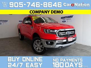 Used 2020 Ford Ranger LARIAT | 4X4 | SUPERCREW | 501A | CHROME PKG for sale in Brantford, ON