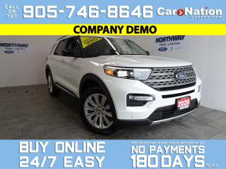 Used 2020 Ford Explorer LIMITED | 4X4 | LEATHER | ROOF | UPGRADED RIMS for sale in Brantford, ON